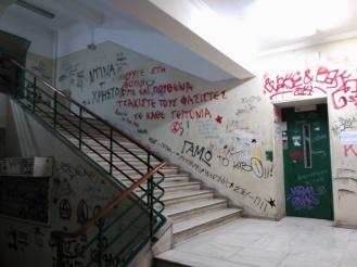 Escaleras de la universidad
